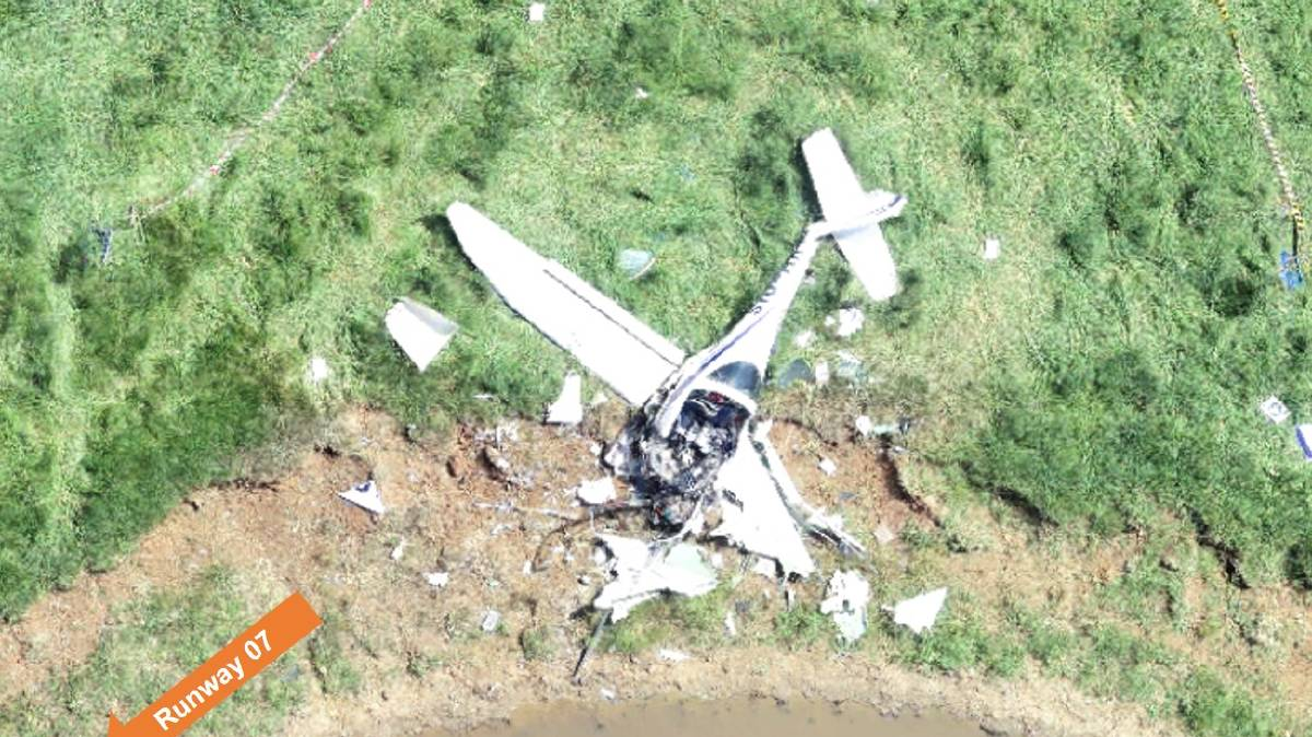 REPORT: An investigation into a fatal plane crash at Carcoar, south of Orange, in November has released its initial findings. Photo: ATSB